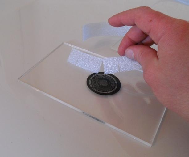 A для изготовления печати в домашних условиях